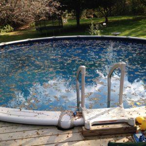 Pulizia delle piscine